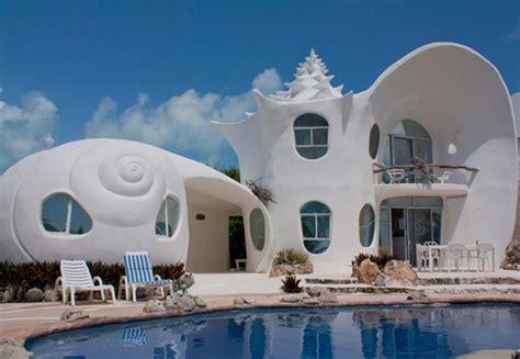 shell house isla mujeres airbnb top 20 les maisons les plus insolites au monde