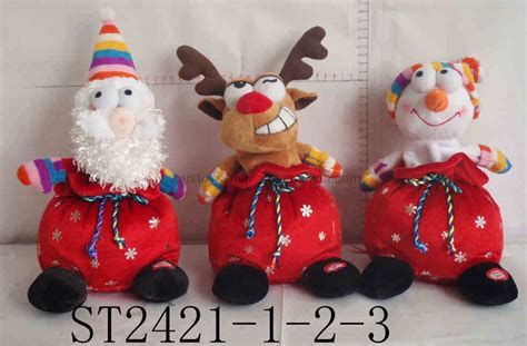china christmas toys st2421 1 2 3 china plush toys