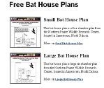 printable bat house plans home ideas