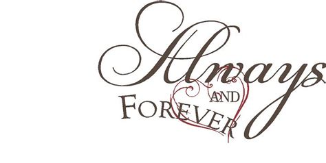 forever always always and forever decal trading phrases