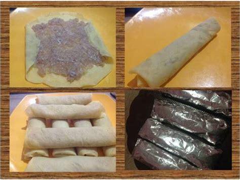 Egg Roll Bento Frozen Foods resep egg chicken roll ala bento frozen food oleh phie kitchen cookpad