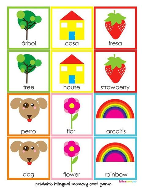 printable matching card games for toddlers pinterest the world s catalog of ideas