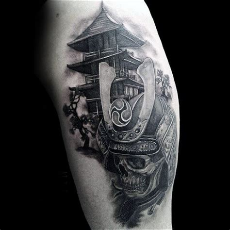 samurai helmet tattoo skull samurai tattoos pictures www picturesboss