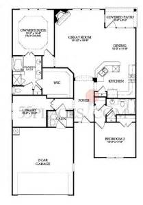 Del Webb Floor Plans Copper Ridge Floorplan 1590 Sq Ft Del Webb