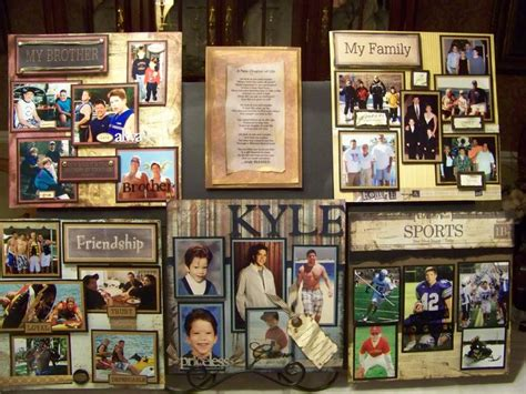 picture board ideas picture displays for graduation party these boards make wonderful displays for graduation