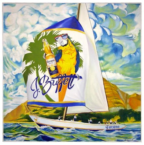 margaritaville cartoon jimmy buffett painting by rpmindy on deviantart