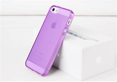 Popping Soft Jelly Casing Iphone iphone 5 5s apple soft tpu clear glossy jelly silicon gel stylish cover ebay