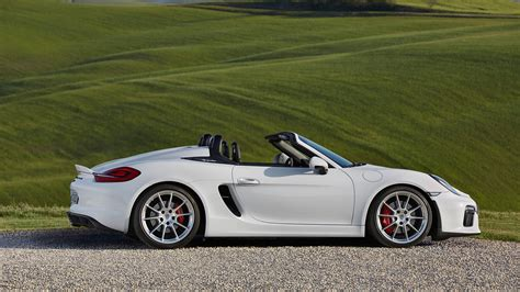 porsche boxster 2015 black porsche boxster spyder 2015 review by car magazine