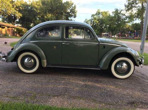 volkswagen oval window beetle deluxe agave driver