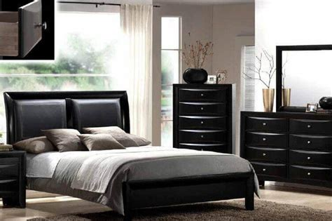 Patio Furniture Direct B4280 Emily Black Bedroom Collection