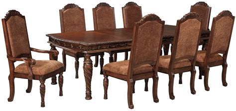 north shore dining room set by ashley millennium d553 astounding north shore rectangular dining room set 87 for