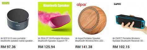 Speaker Bluetooth Yang Kecil speaker mini mudah alih portable yang bagus ecommerce