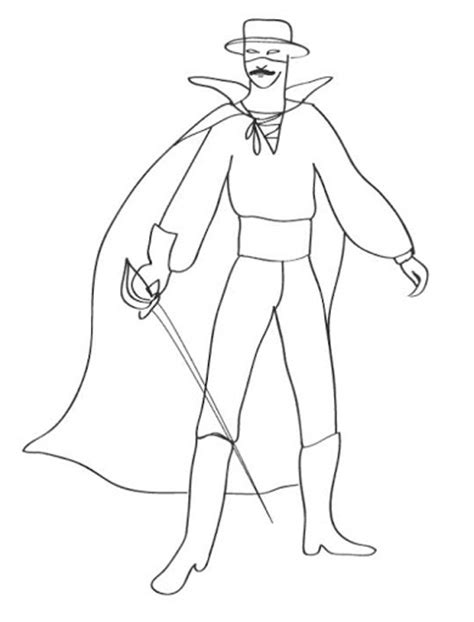 coloring pages zorro free coloring pages of zorro animal