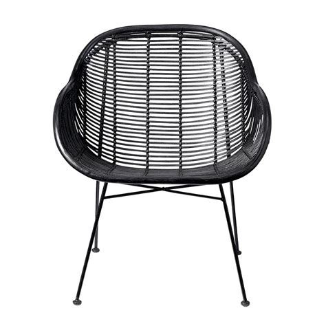 Where To Buy Wicker Chairs by Buy Bloomingville Lounge Braided Rattan Chair Black Amara