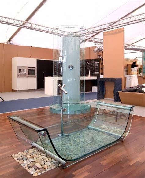 clear glass bathtub 8 modern clear glass bathtubs interior design design