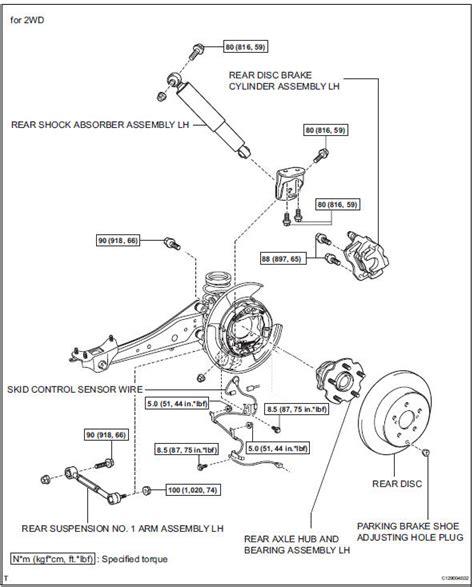Service Manual Diagram To Change Wheel Bearing On A 2008