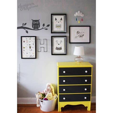 Wallpaper Sticker Kode Rdws 047 owl on branch