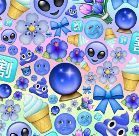 emoji edits wallpaper blue light dark emoji edit edits pinterest emoji