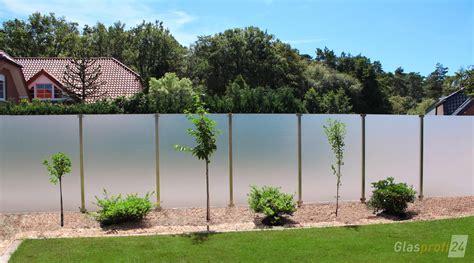 designer sichtschutz glaszaun f 252 r wind und sichtschutz glasprofi24