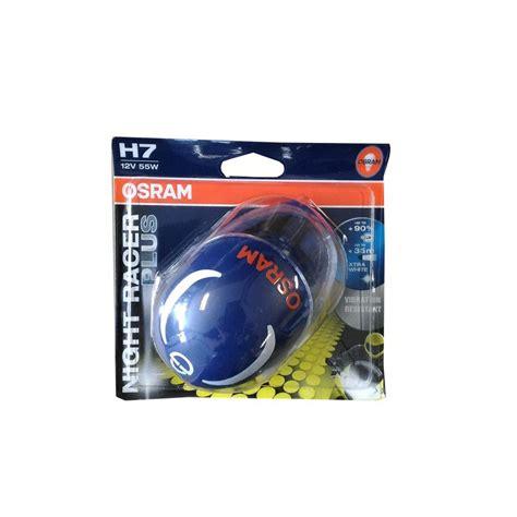 Toyota Osram Lu Depan Low Beam Hyper Cool Blue H11 jual osram lu motor sport racer plus h7 high low