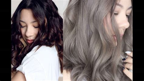 how do you dye ash brown from dyed red what is medium ash brown hair color youtube