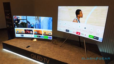 samsung s qled tvs wow with quantum dot 4k and easy mounts tech news log