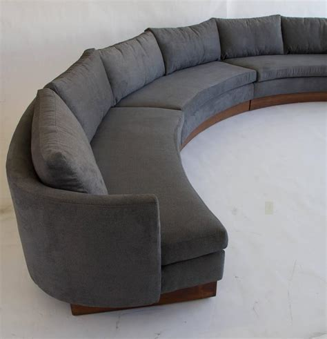 circular sectional custom semi circular sectional by carson s of north