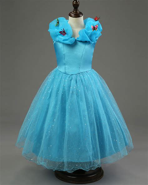 what color is cinderella s dress tale lovely cinderella dress blue color