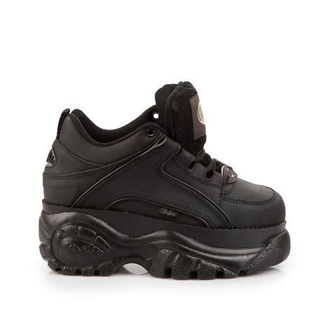 buffalo shoes new buffalo classic boots 1339 14 black platform shoes