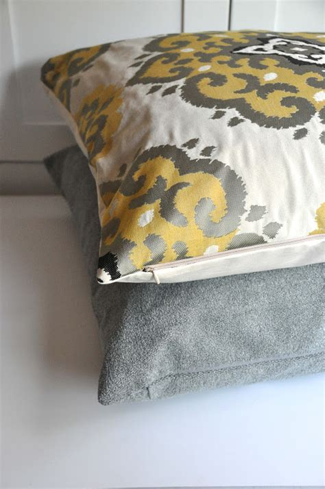 aesthetic nest sewing pillow covers with invisible