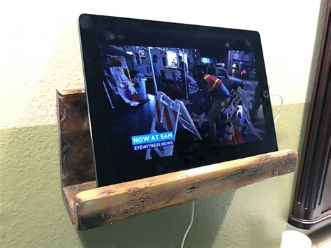 tablet wall mount diy hdtv and home theater podcast news diy tablet wall mount