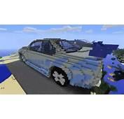 Minecraft 3D Cars 2 Fast Furious Nissan Skyline R34