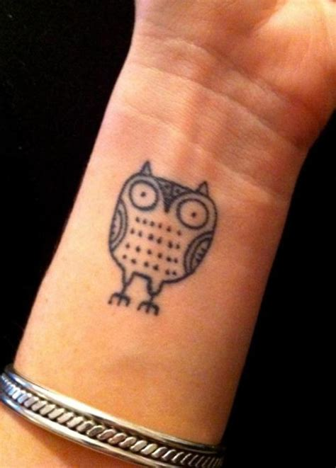 small owl tattoo 36 attractive owl wrist tattoos design