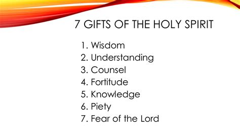 7 fruits of the holy spirit and their meanings 7 gifts of the holy spirit and their definitions