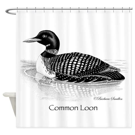 loon shower curtain common loon shower curtain by smullen239