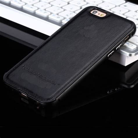 Leather Iphone 4 4s 5 5s 6 6s luxury original leather back cover for apple iphone 7