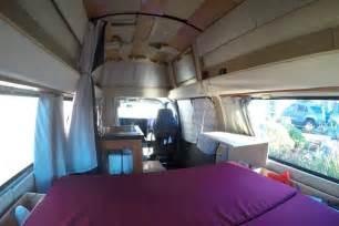 Camper Van Interior Gypsy My Super Awesome Camper Van Conversion Defying Normal