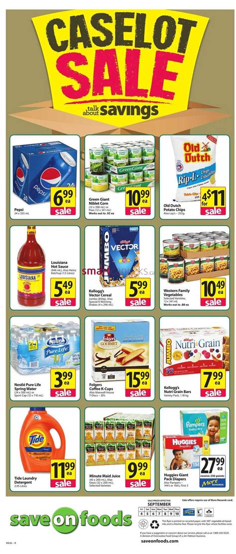 Save on Foods Flyer September 4 to 10