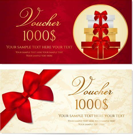 flower design voucher code exquisite vouchers template design vector set free vector