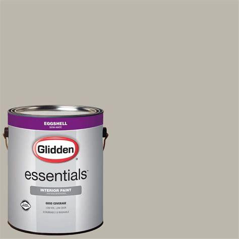 glidden essentials 1 gal hdgwn50 pewter grey eggshell interior paint hdgwn50e 01en the home