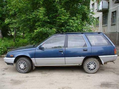 mitsubishi fiore hatchback 1990 mitsubishi mirage wagon pictures 1 8l gasoline