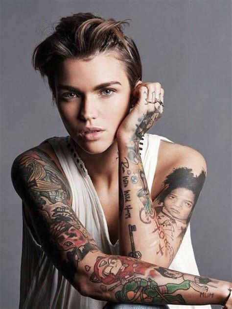 ruby rose tattoos tattoo collections