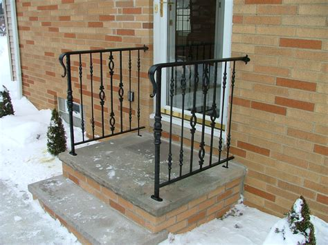 Front Door Railings Front Door Railing House For Sale Front Door And Stair Railing Finelli Ironworks Front Door