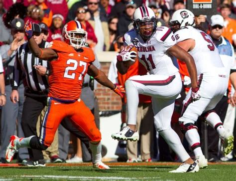 talks awards tigers and gamecocks clemson football news tigernet gamecocks wide receiver pharoh cooper makes two award