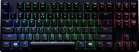 Cooler Master Masterkeys Pro S Rgb Gaming Keyboard Switch masterkeys pro l rgb cooler master