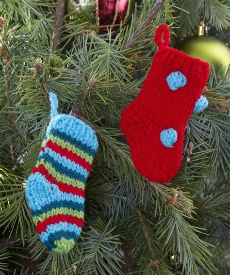 knitting pattern for christmas tree stocking little knit stockings pattern knitting christmas
