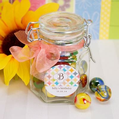 Jar Of Marbles  Ee  Birthday Ee   Party Favor  Ee  Ideas Ee   By Beau Up