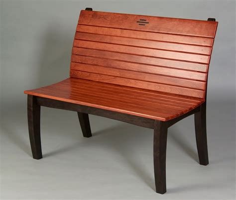 cherry bench seating north light art furniture