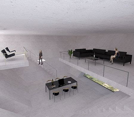 tna reveals inverted pyramid design for solo house in matarra a spain inverted pyramid house