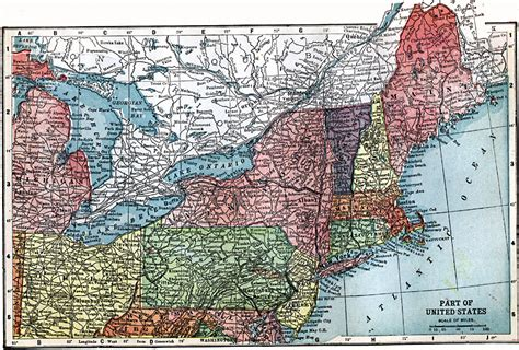 map of northeastern united states without names the northeast united states